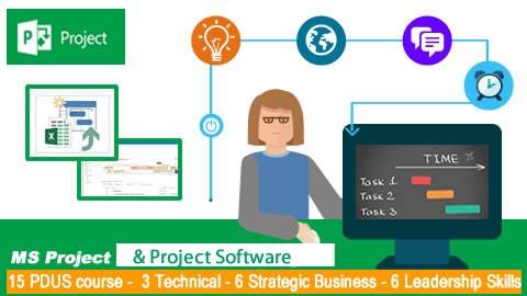 15 PDU Microsoft PRoject software